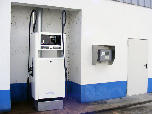 Tankautomat in Krostitz